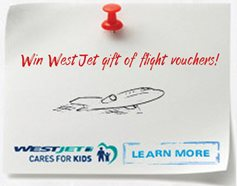 Win WestJet gift of flight vouchers! image